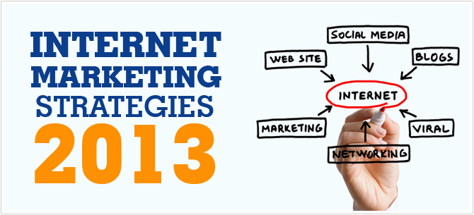 Internet Marketing Strategies 2013